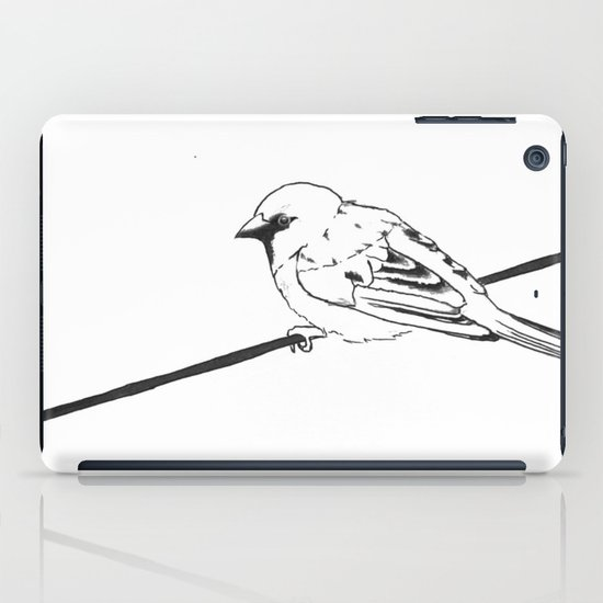 On a Wire iPad Case