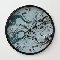 Even .. More .. Tentacle… Wall Clock