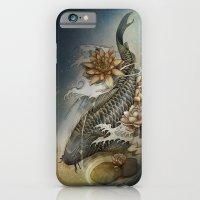 Koi And Lotus iPhone 6 Slim Case