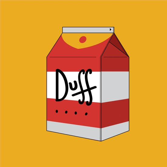 Duff in a box Art Print