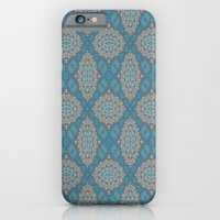 Tribal Tile Blue iPhone 6 Slim Case