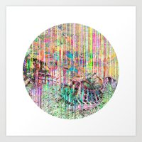 Decompose Art Print