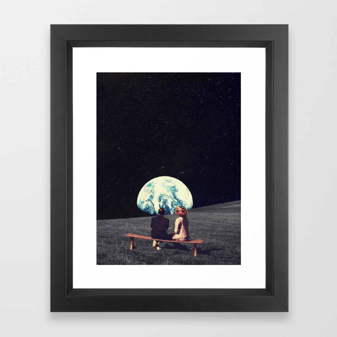 Sci fi framed art prints society6 for Wall art prints