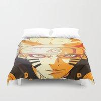 Naruto: Sage Beast Mode Duvet Cover