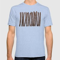 Pretzel Stix Lineup Mens Fitted Tee Athletic Blue SMALL