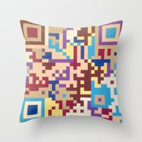 Number One Multicolour  Throw Pillow