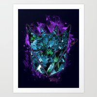 Decepticons Abstractness - Transformers Art Print