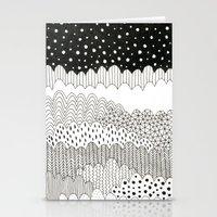 Night Fields Stationery Cards