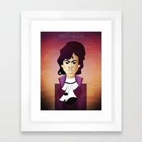 Prince Nelson Framed Art Print