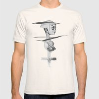 Holy Mens Fitted Tee Natural SMALL