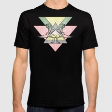 siamo tyrex SMALL Mens Fitted Tee Black