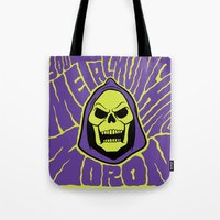 Metal Muncher Tote Bag