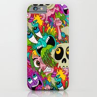 Puke Pattern iPhone 6 Slim Case