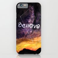 iPhone & iPod Case featuring don't stop believing by Betul Donmez