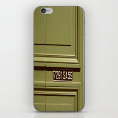Green doorway  iPhone & iPod Skin