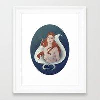 Angrec Framed Art Print