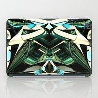 Green Warp iPad Case
