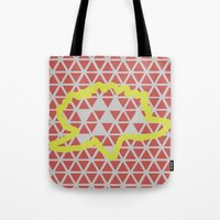 Geometric vs. Organic  Tote Bag