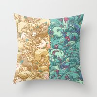 Saturnalia Donnybrook Throw Pillow