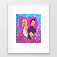 The Perfect Wave Framed Art Print