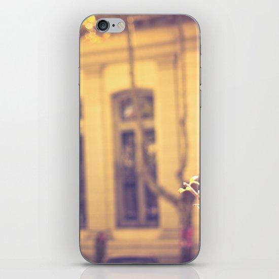 Violet Windows iPhone & iPod Skin