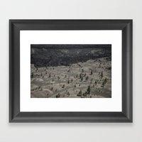 Lassen National Volcanic… Framed Art Print