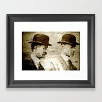 The Wright Brothers Framed Art Print