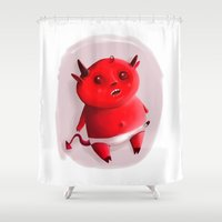 Little Devil Shower Curtain