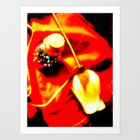 Plastic Flowers 2 Art Print