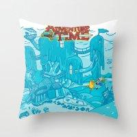 Adventure Time! Throw Pillow