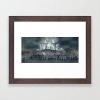 Alan Wake Framed Art Print