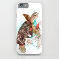 iPhone & iPod Case featuring Tortuga by Ariana Perez