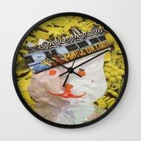 Listen Up Kids Wall Clock