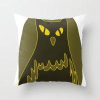 Owlie Throw Pillow