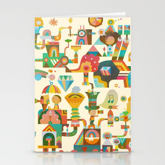 The Chipper Widget Stationery Card