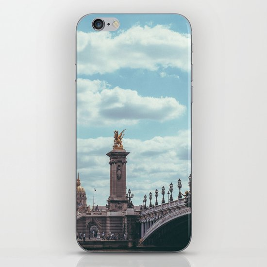 Pont Alexandre III, Paris  iPhone & iPod Skin