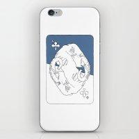 Elephant Card iPhone & iPod Skin