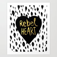Rebel Heart Art Print