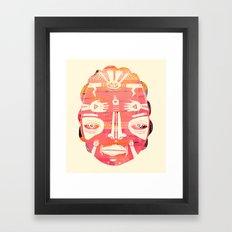 Cloud Face I Framed Art Print