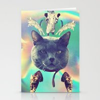 Galactic Cats Saga 3 Stationery Cards