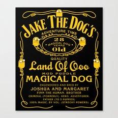 Jake the dog's Canvas Print