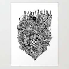 Existential Engine Art Print