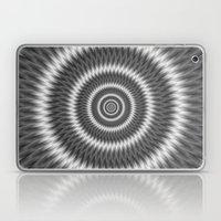 Monochrome Rings Laptop & iPad Skin