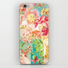 Hide And Seek Floral iPhone & iPod Skin