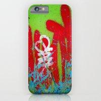 iPhone & iPod Case featuring Jardin De Graffiti by Angela Burman