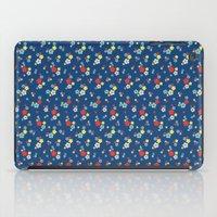 blossom ditsy in monaco blue iPad Case