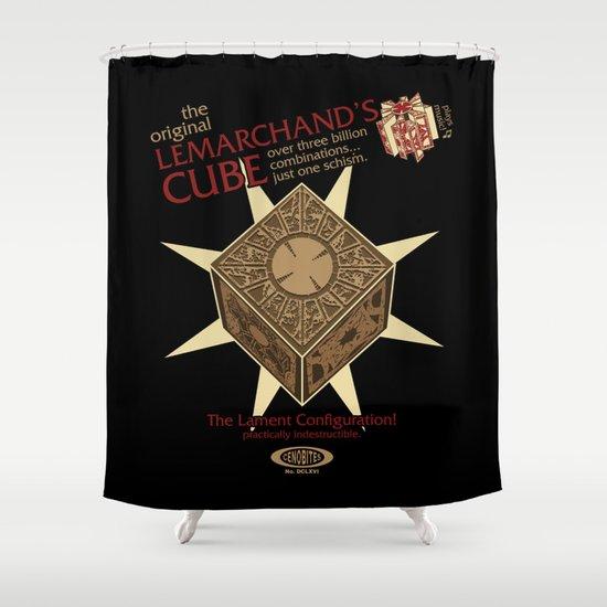 Lemarchand's Cube - Hellraiser Shower Curtain