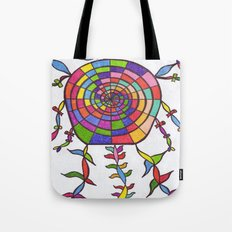 THE NIGHT WATCHER Tote Bag