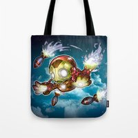 lil' Iron Dude Tote Bag