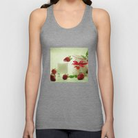 Country-style still life of fresh fruit Unisex Tank Top